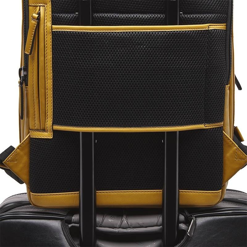 Castelijn & Beerens Victor Laptop Backpack 15-inch Yellow-181953