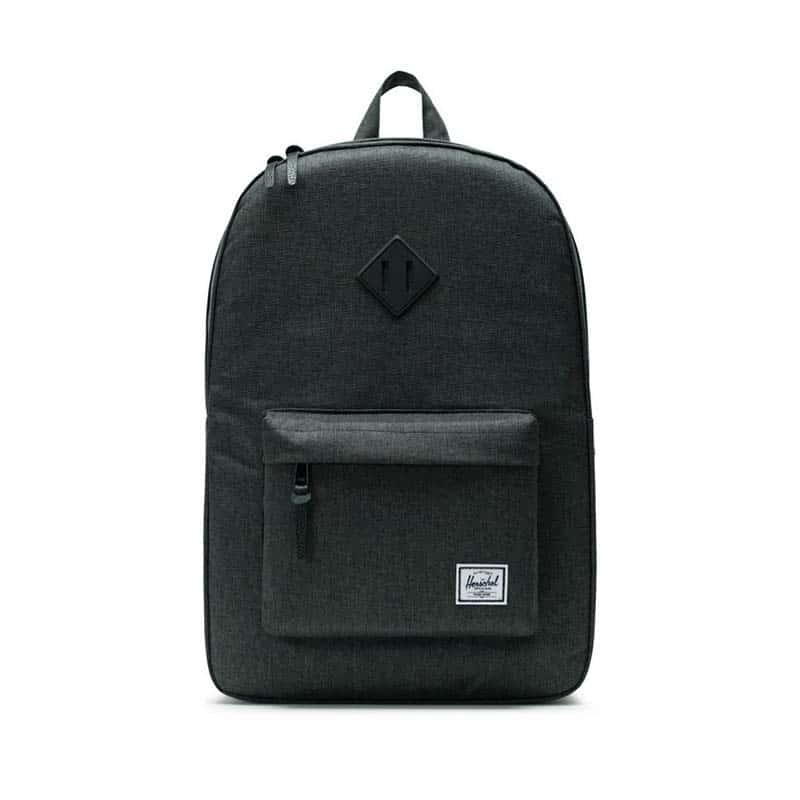 Herschel Heritage Backpack Black Crosshatch / Black-0