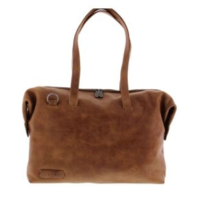 Plevier Pure Caithness 15-inch Laptopbag Cognac-0