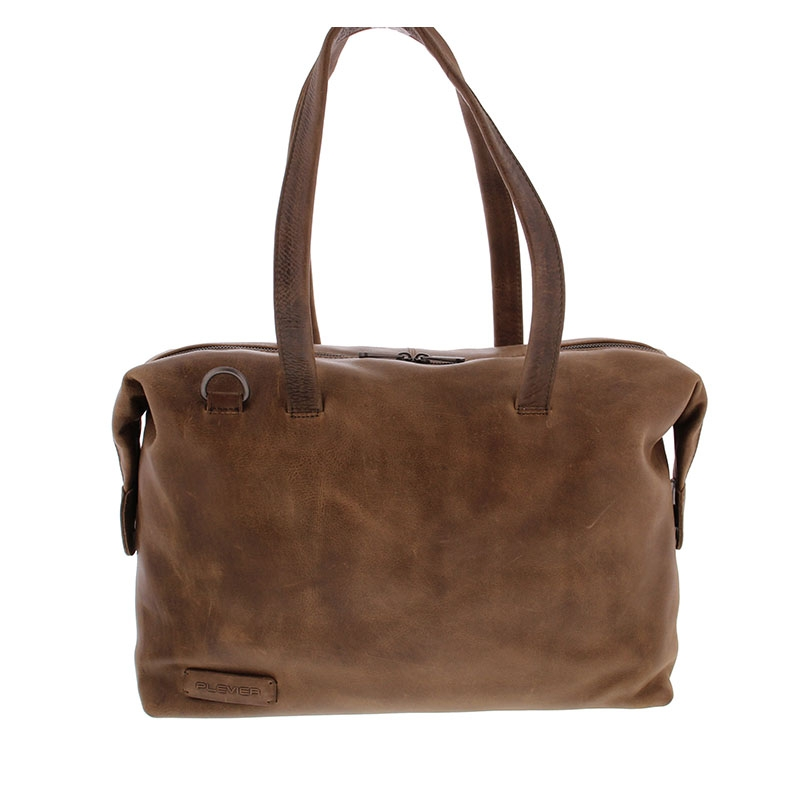 Plevier Pure Caithness 15-inch Laptopbag Taupe-0