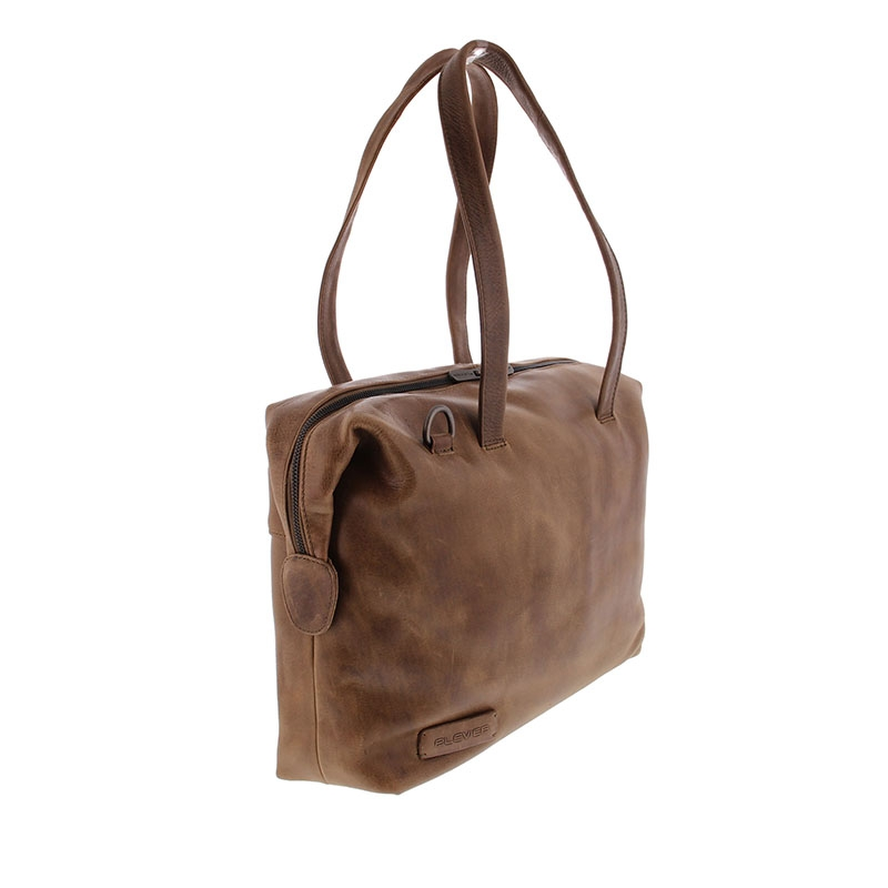 Plevier Pure Caithness 15-inch Laptopbag Taupe-181782