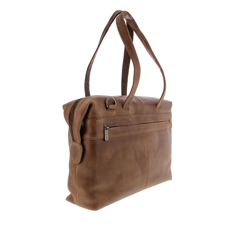 Plevier Pure Caithness 15-inch Laptopbag Taupe-181783