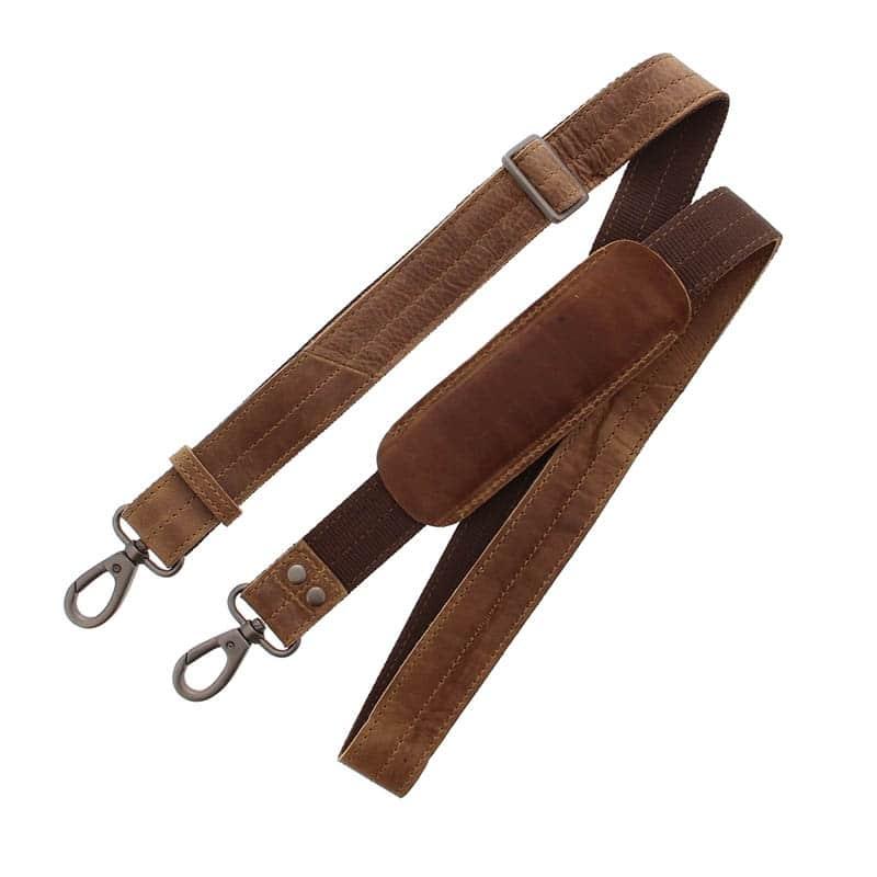 Plevier Pure Dorset 15-inch Shoulderbag/Laptopbag Cognac-181824