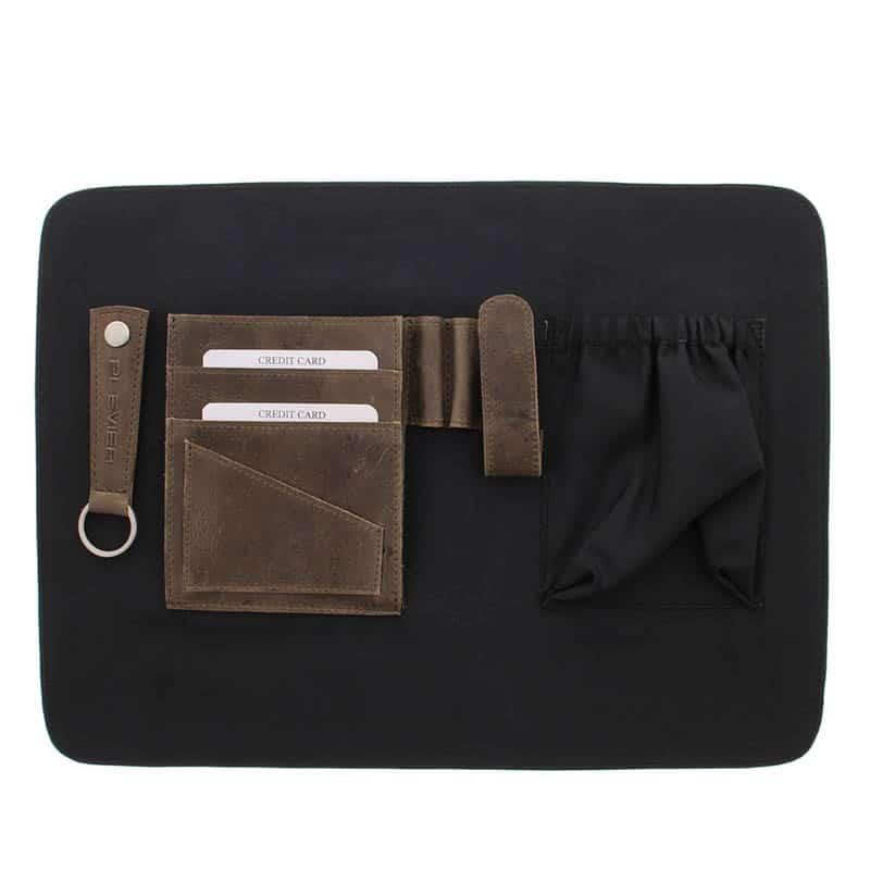 Plevier Pure Dorset 15-inch Shoulderbag/Laptopbag Taupe-181828