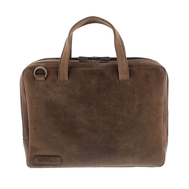 Plevier Pure Midlothian 14-inch Laptopbag Taupe-0