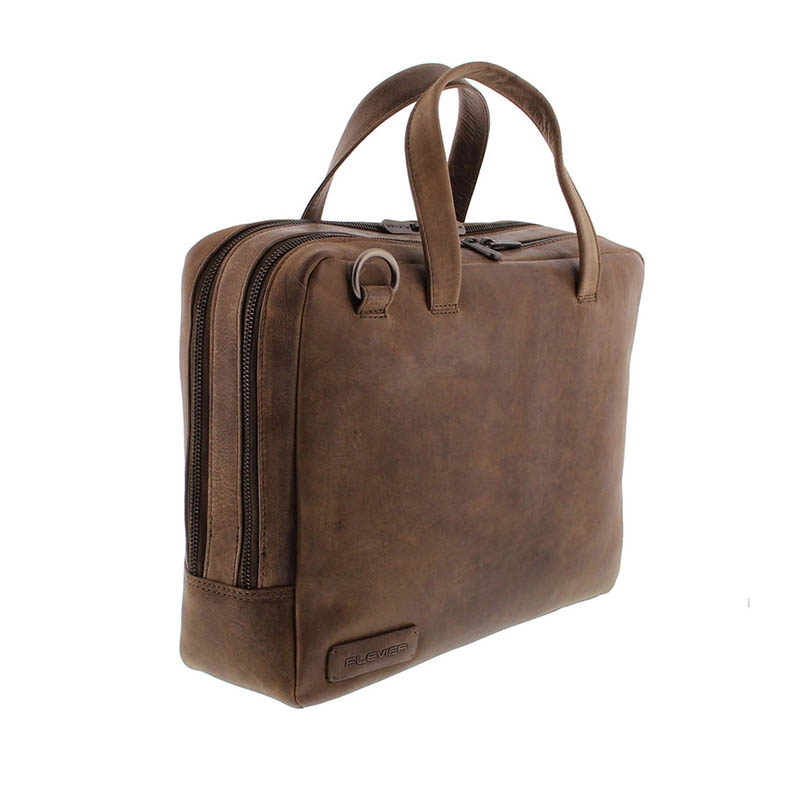 Plevier Pure Midlothian 14-inch Laptopbag Taupe-181792