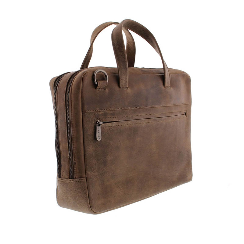 Plevier Pure Midlothian 14-inch Laptopbag Taupe-181793