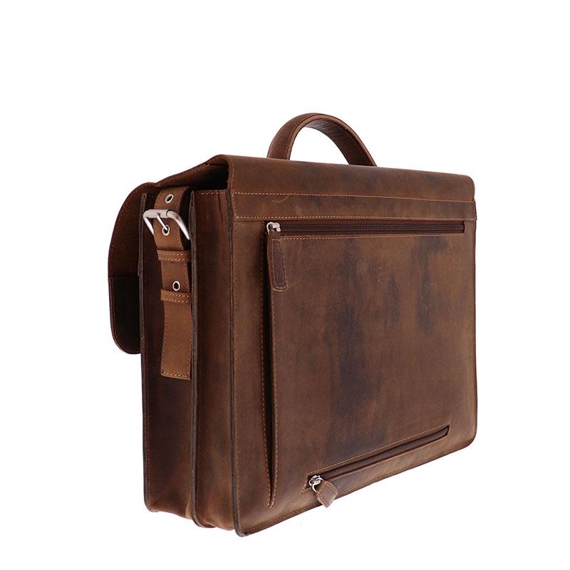 Plevier Retro Darwin Laptopbag 15-inch Brown-181705