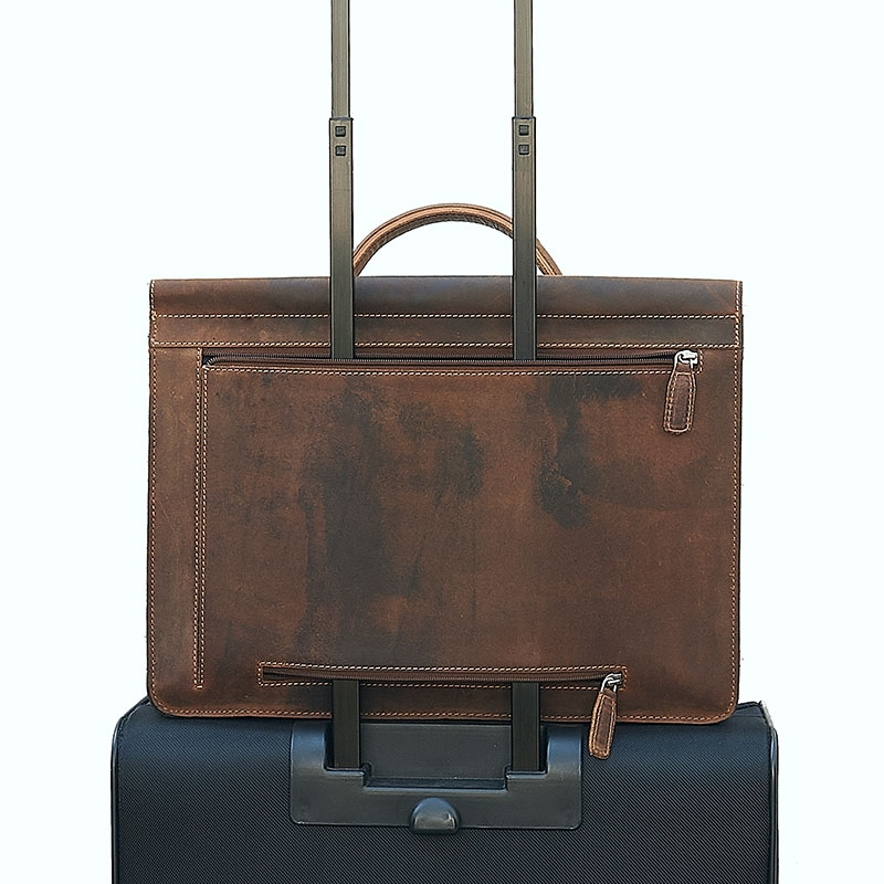 Plevier Retro Darwin Laptopbag 15-inch Brown-181708