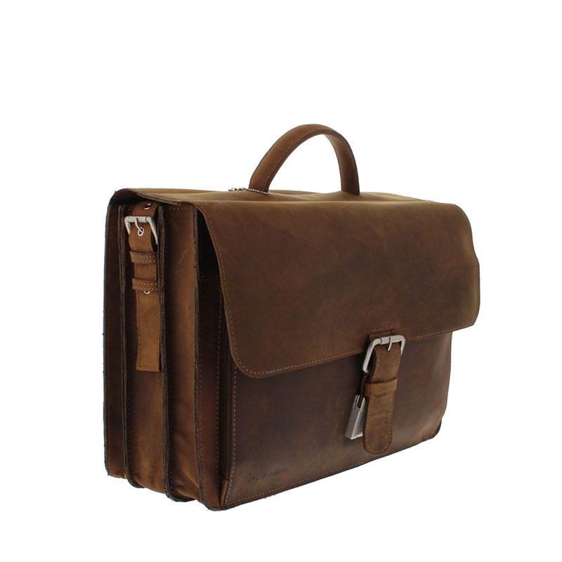 Plevier Retro Newton Laptopbag 15-inch Brown-181712