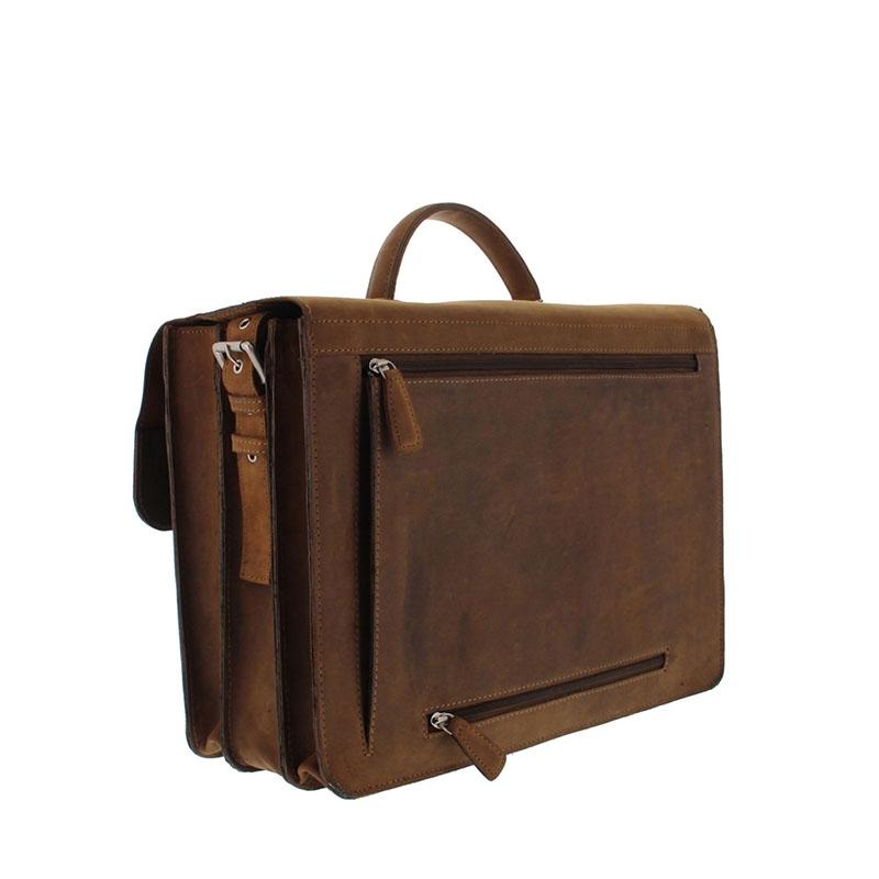 Plevier Retro Newton Laptopbag 15-inch Brown-181713