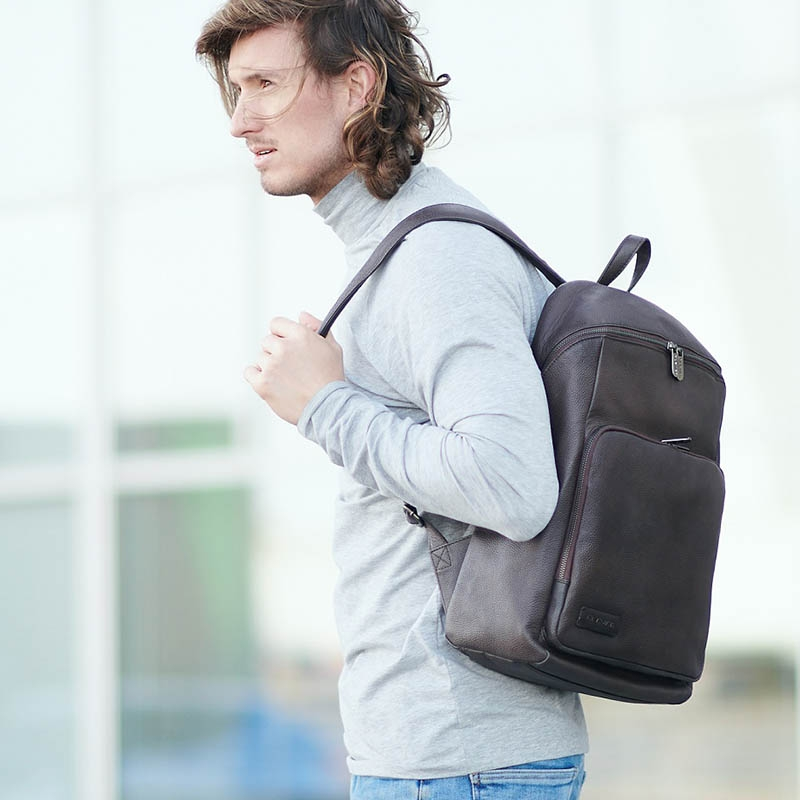 Plevier Techno Voltage Backpack Brown-181762