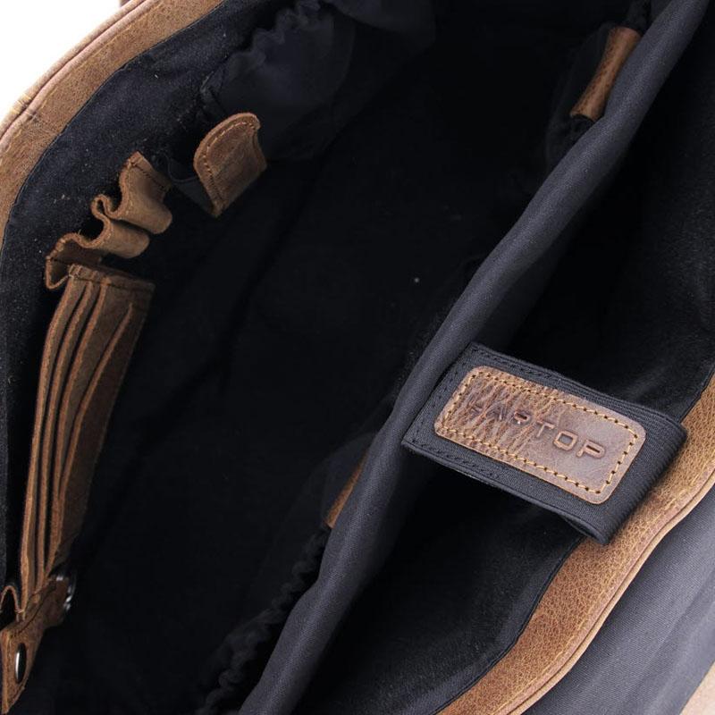 Plevier Urban Dalian Laptopbag 15-inch Cognac-181661
