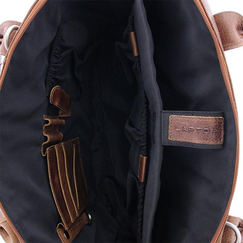 Plevier Urban Fiera Laptopbag 15-inch Cognac-181668
