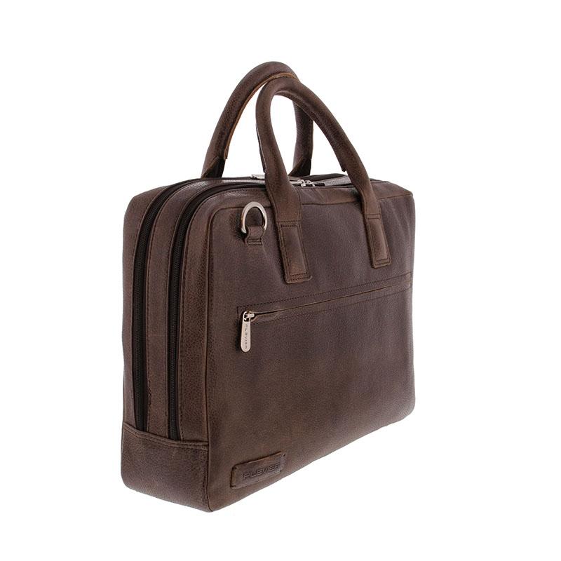 Plevier Urban Sandyford Laptopbag 15-inch Brown-181680