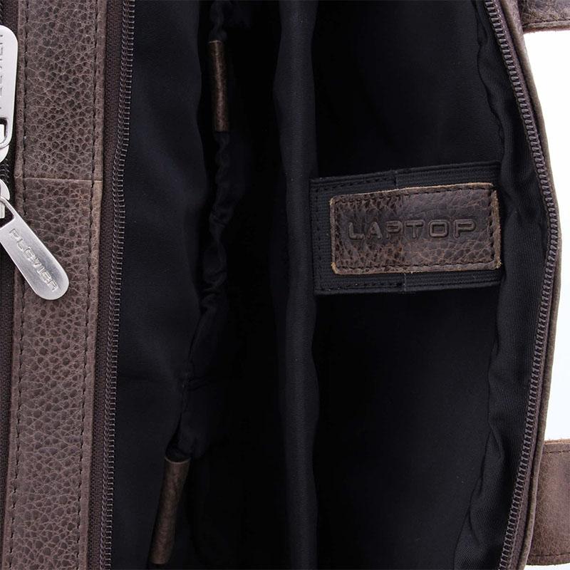 Plevier Urban Sandyford Laptopbag 15-inch Brown-181682