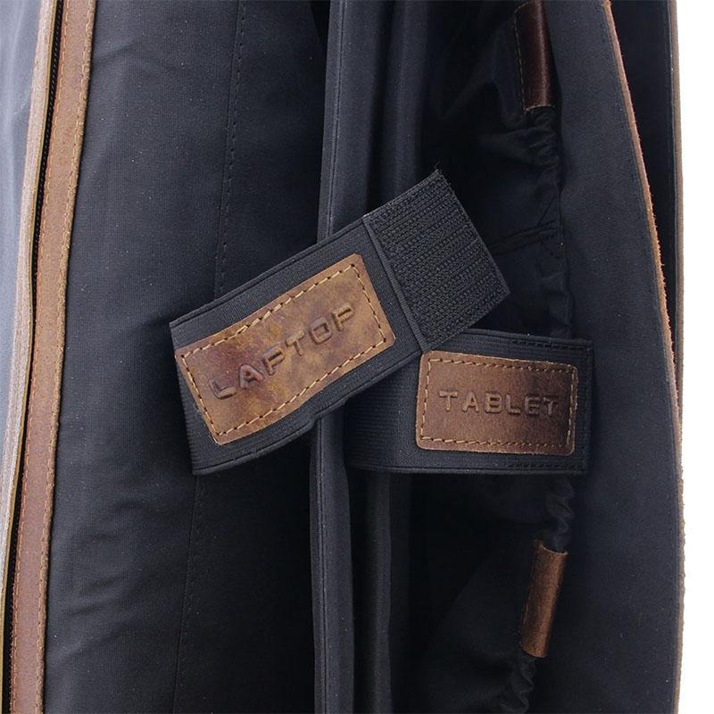 Plevier Vintage Manchester Businessbag 17-inch Brown-181643