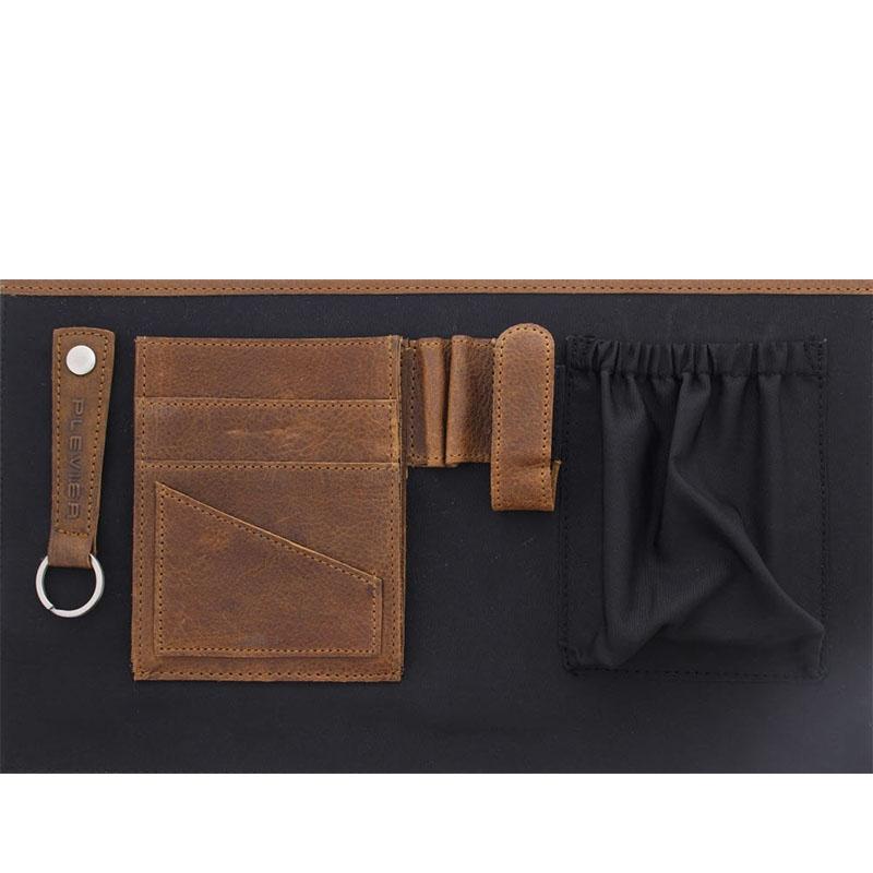 Plevier Vintage Manchester Businessbag 17-inch Brown-181644
