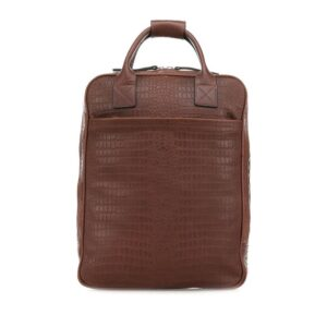 Still Nordic Dundee Backpack Brown Croco-0