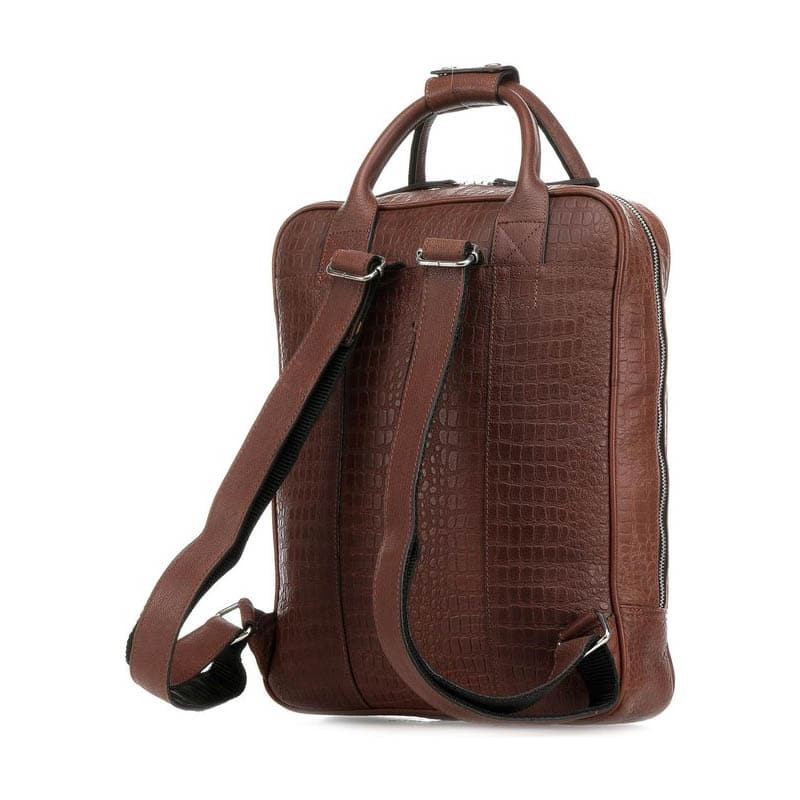 Still Nordic Dundee Backpack Brown Croco-182092