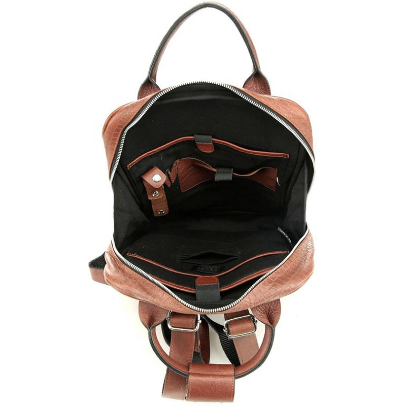Still Nordic Dundee Backpack Brown Croco-182093
