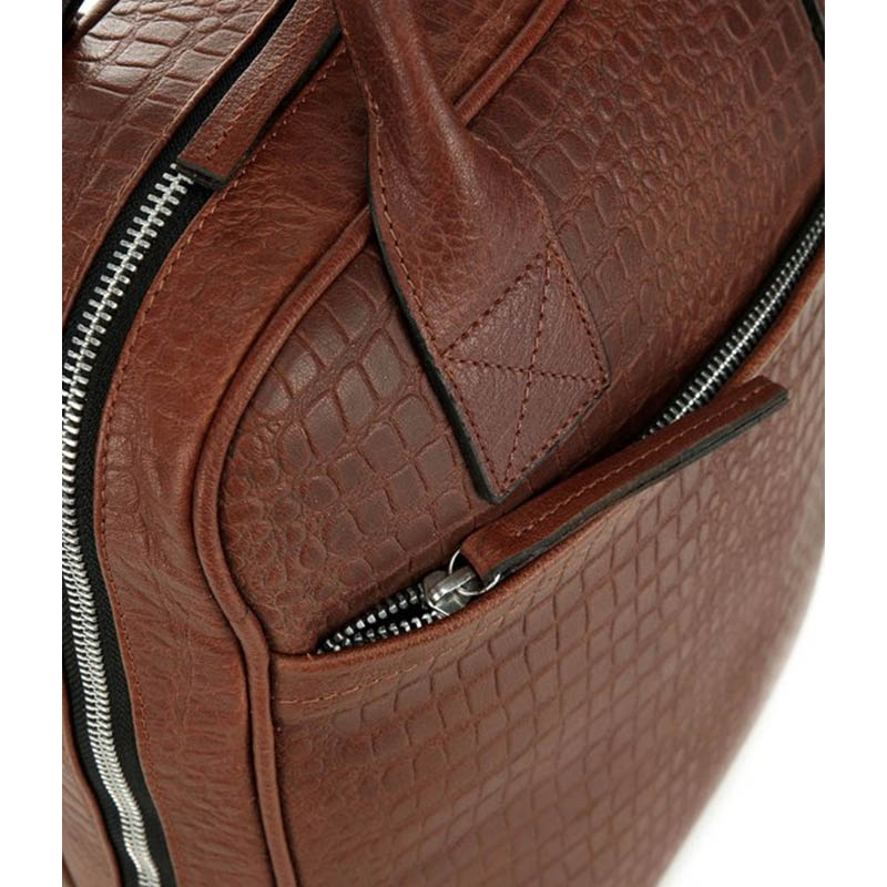 Still Nordic Dundee Backpack Brown Croco-182094