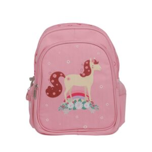 A Little Lovely Company Backpack: Horse-0