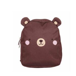 A Little Lovely Company Little Backpack: Bear-0