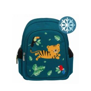 A Little Lovely Company Insulated Backpack: Jungle Tiger