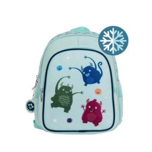 A Little Lovely Company Insulated Backpack: Monsters-0