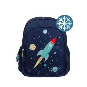 A Little Lovely Company Insulated Backpack: Space-0