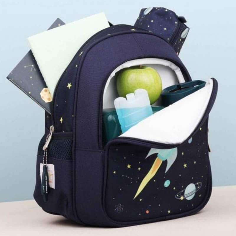 A Little Lovely Company Insulated Backpack: Space-183012