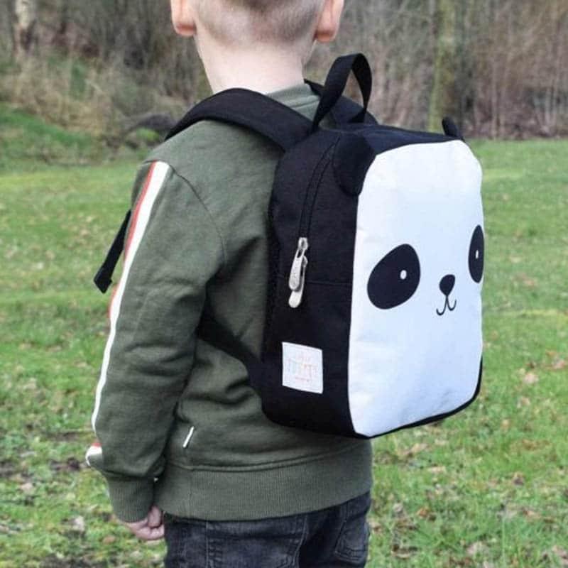 A Little Lovely Company Little Backpack: Panda-183024
