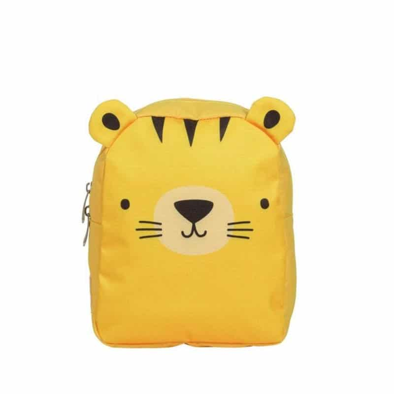A Little Lovely Company Little Backpack: Tiger-0