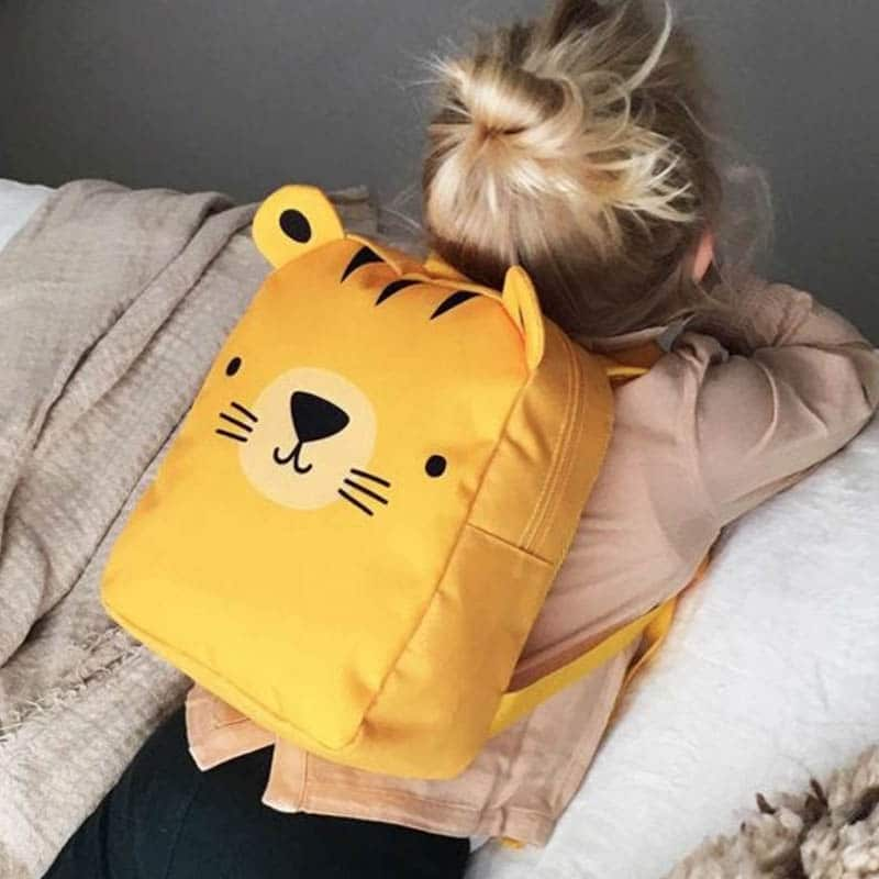 A Little Lovely Company Little Backpack: Tiger-183030