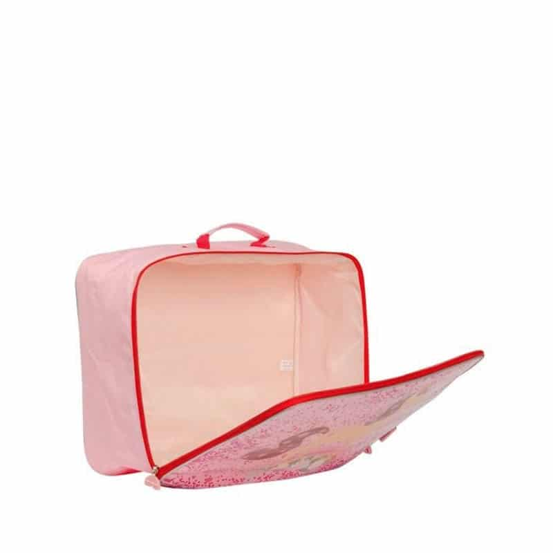 A Little Lovely Company Suitcase: Glitter Horse-182958