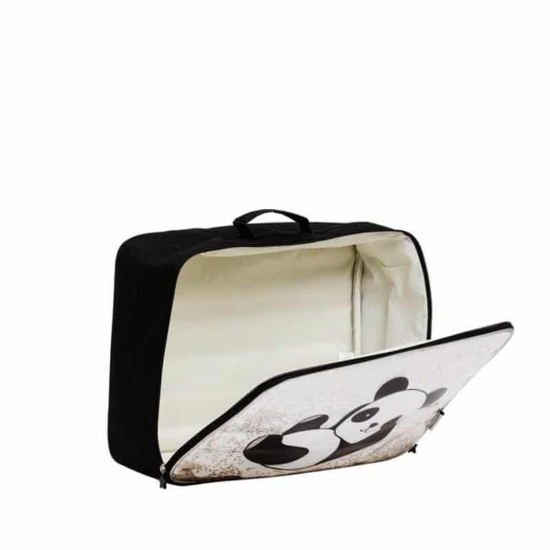 A Little Lovely Company Suitcase: Glitter Panda-182969
