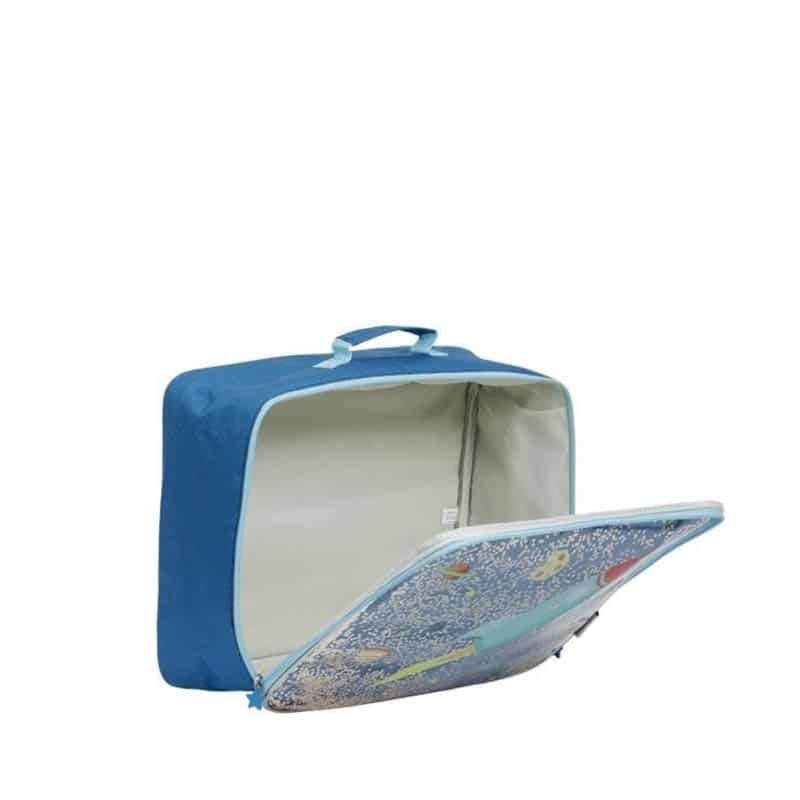 A Little Lovely Company Suitcase: Glitter Space-182965