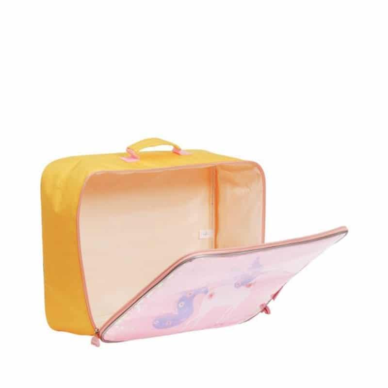 A Little Lovely Company Suitcase: Glitter Unicorn-182963