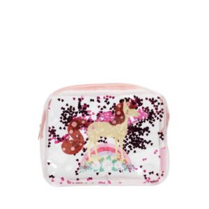 A Little Lovely Company Toiletry Bag: Glitter Horse