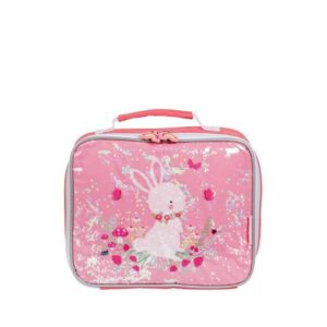A Little Lovely Company Cool Bag: Glitter Bunny-0
