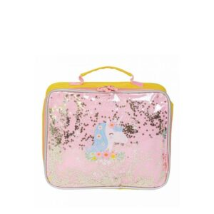 A Little Lovely Company Cool Bag: Glitter Unicorn-0