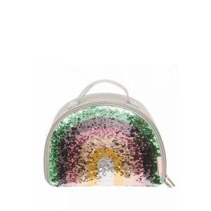 A Little Lovely Company Cool Bag: Rainbow Sequin-0
