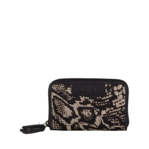 Burkely Evening Hair On Mini Wallet White