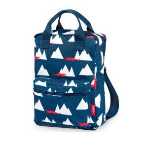 ENGEL Large Backpack Croco-0