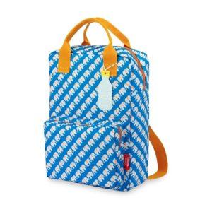 ENGEL Large Backpack Elephant Blue-0