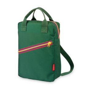 ENGEL Large Zipper Backpack Green-0