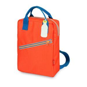 ENGEL Large Zipper Backpack Red-0