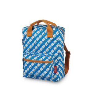 ENGEL Medium Backpack Elephant Blue-0
