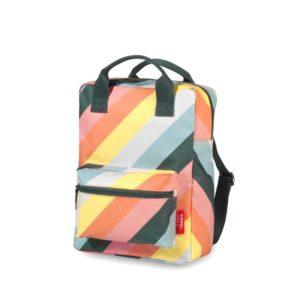 ENGEL Medium Backpack Stripe Rainbow-0